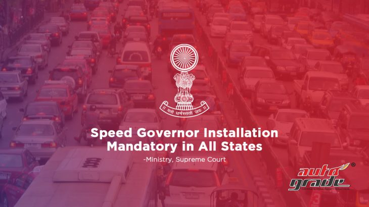Speed Governor Installation Mandatory in All States