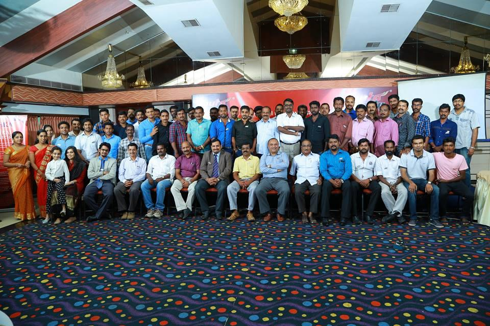 Autograde's tank launch function held at The Renai Cochin Hotel.